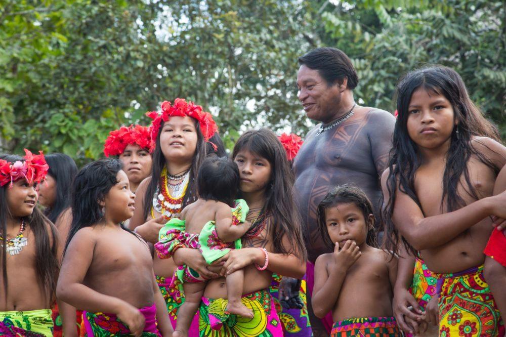 rondreis panama embera indianen