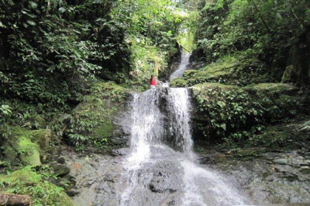 santa fe waterfall vogelreis panama