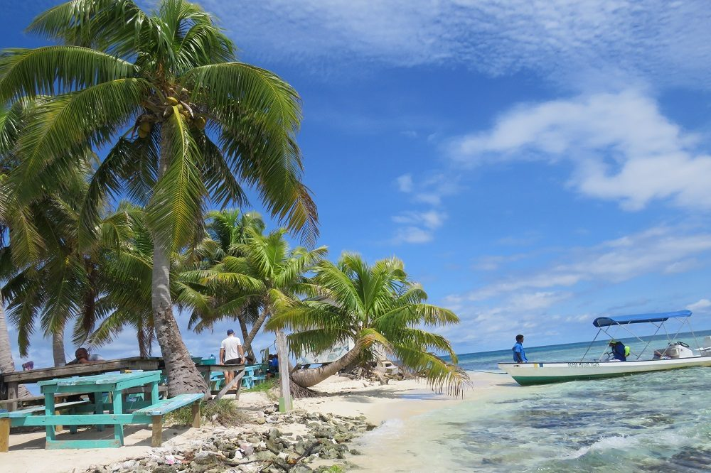 silk caye individuele rondreis Belize