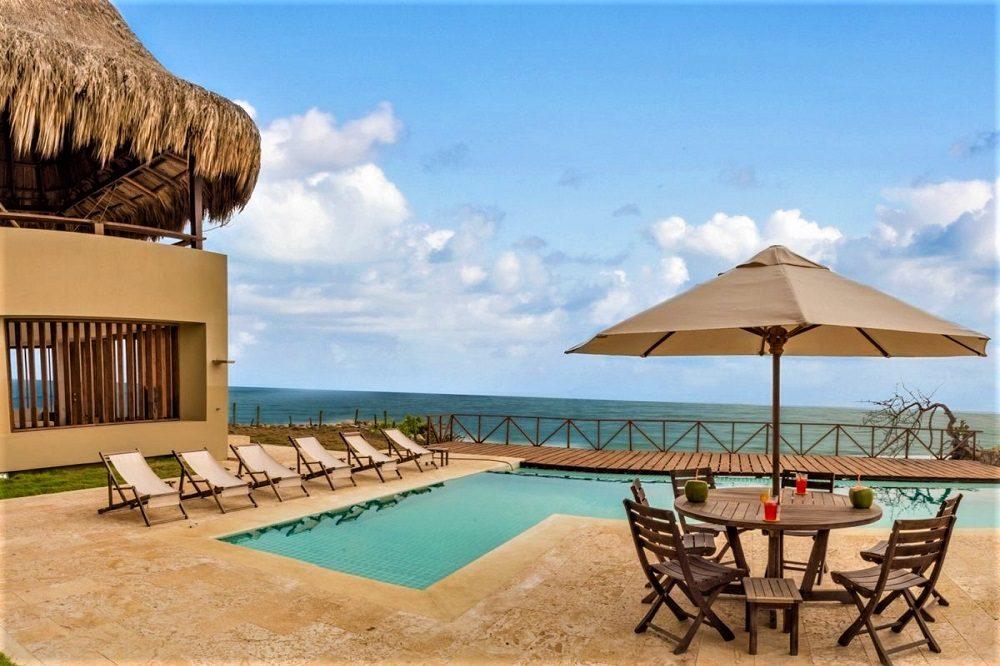 terras zwembad hotel tayrona