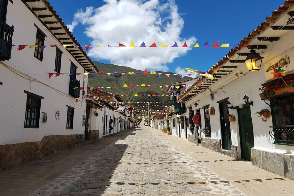 villa de leyva colombia reizen