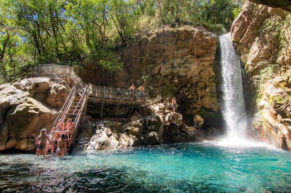 waterval bij rincon de la vieja