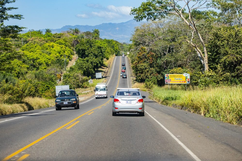 wegen autorijden in Costa Rica