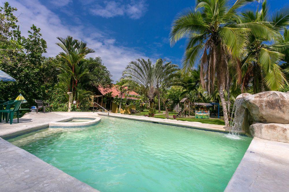 zwembad caribische kust