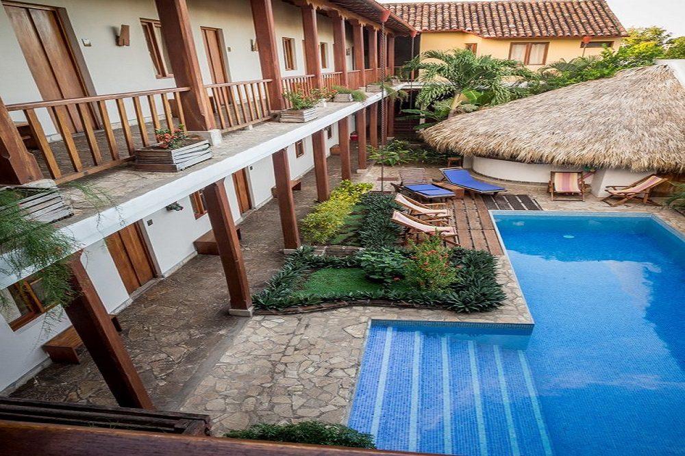 zwembad hotel Granada