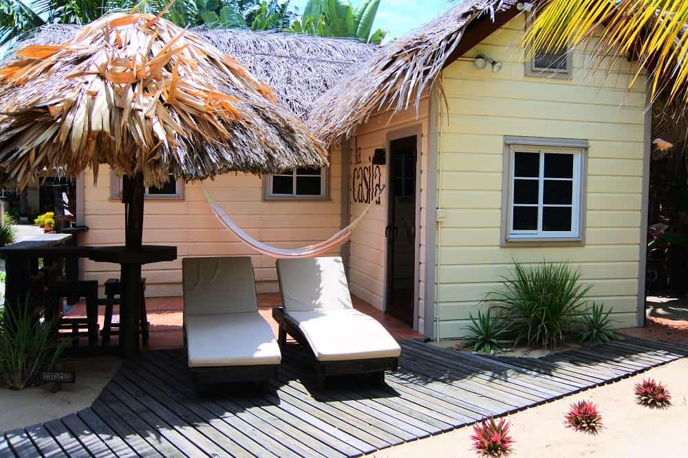 caribbean beach cabanas placencia