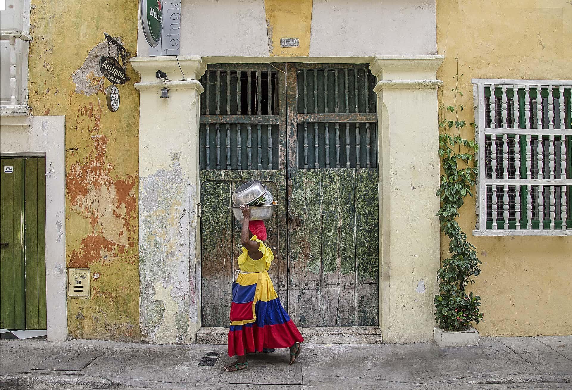 colombia reizen locals cartagena