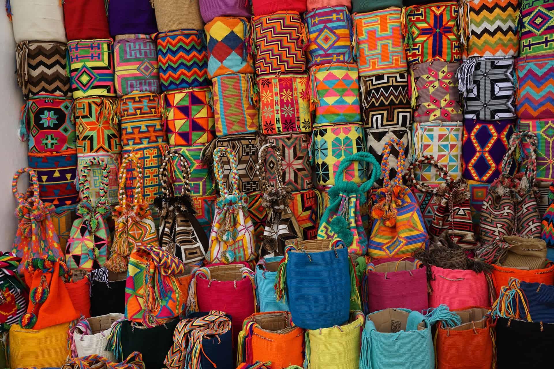 colombia reizen tassen