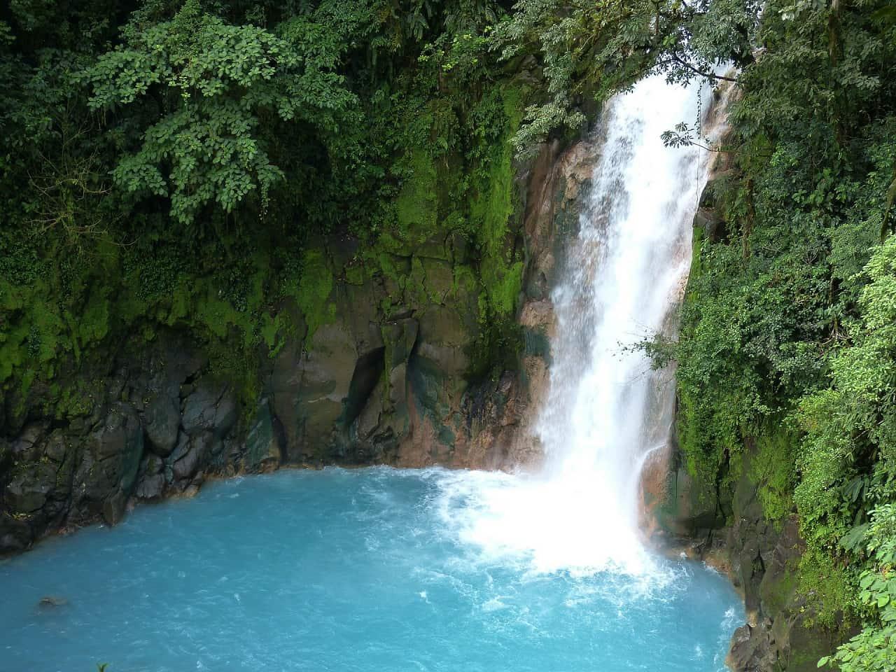 costa rica reizen tenorio waterval