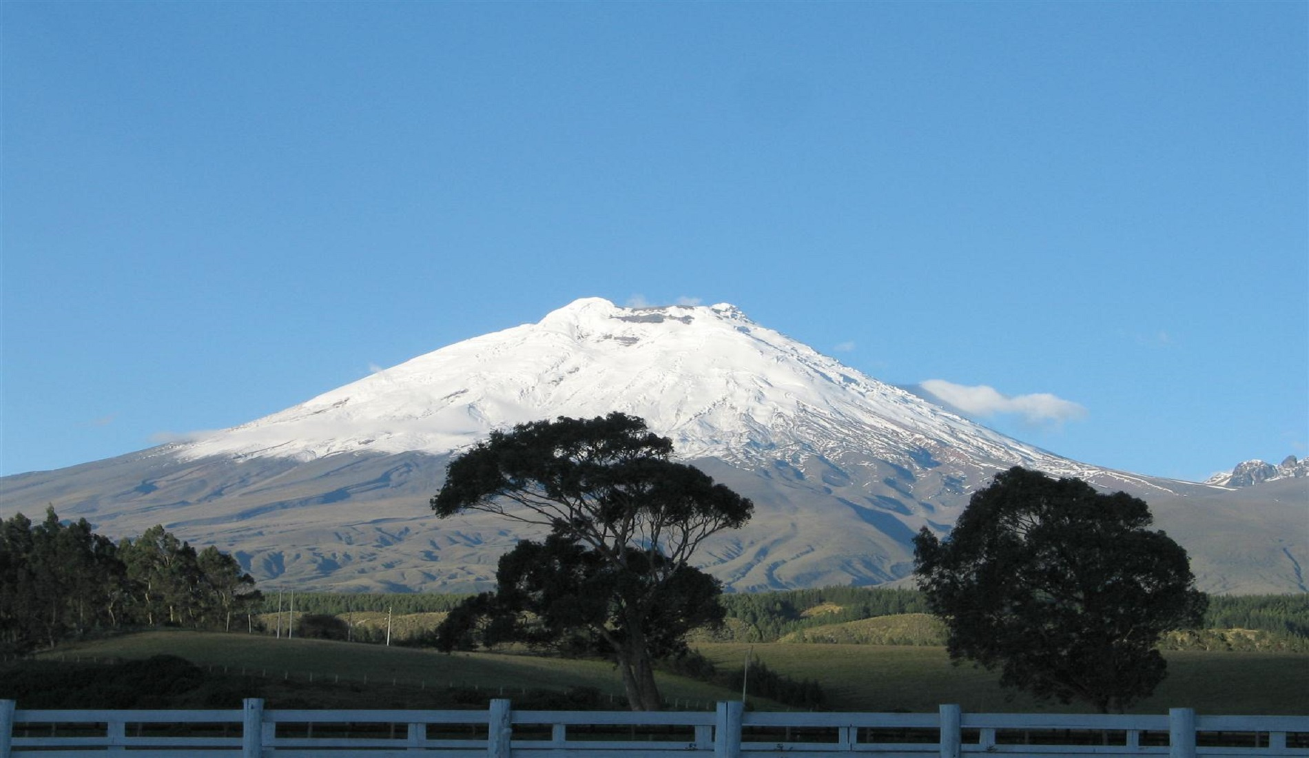 ecuador hoogtepunten reis cotopaxi