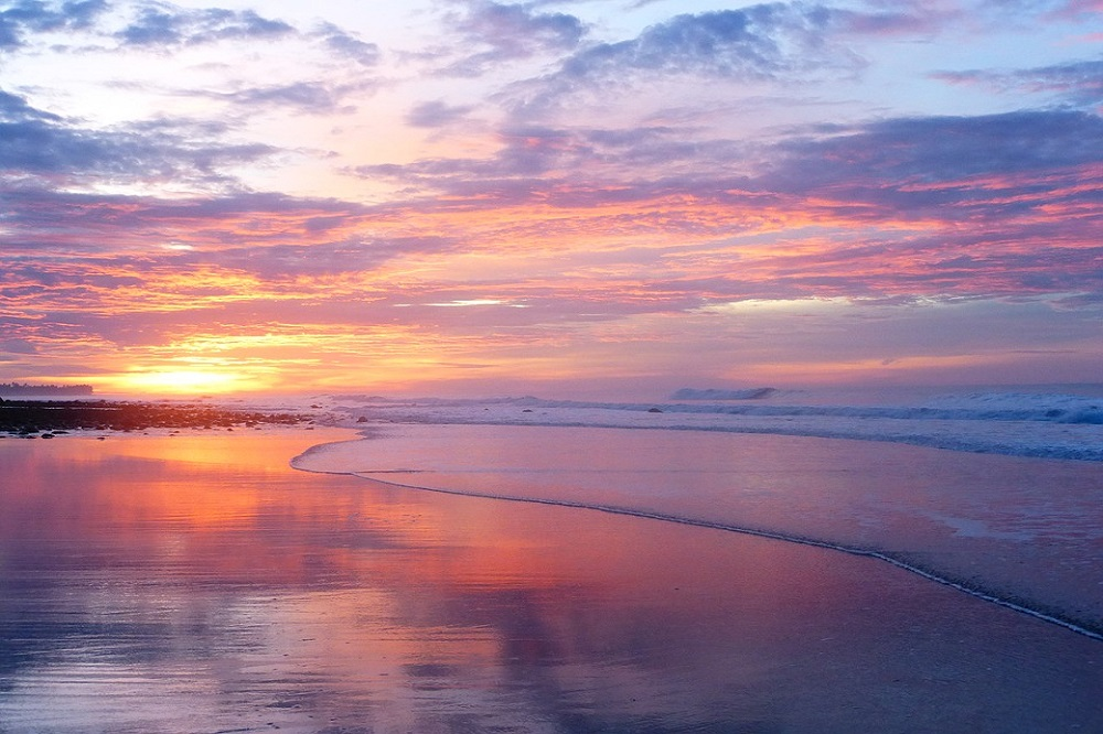 el tunco zonsondergang