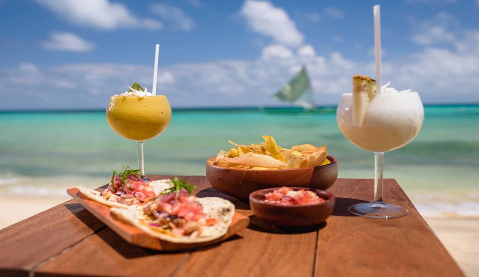 eten strand