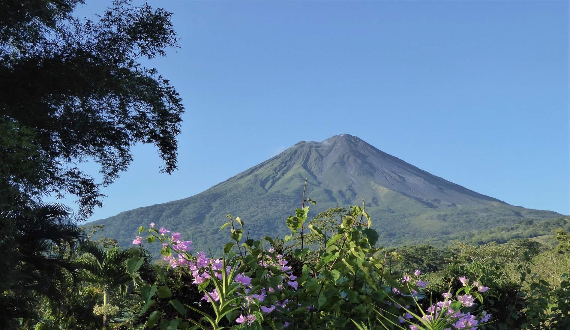 familiereis costa rica vulkaan