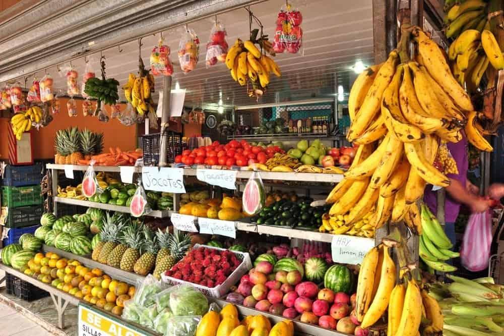 fruit markt costa rica eten en drinken