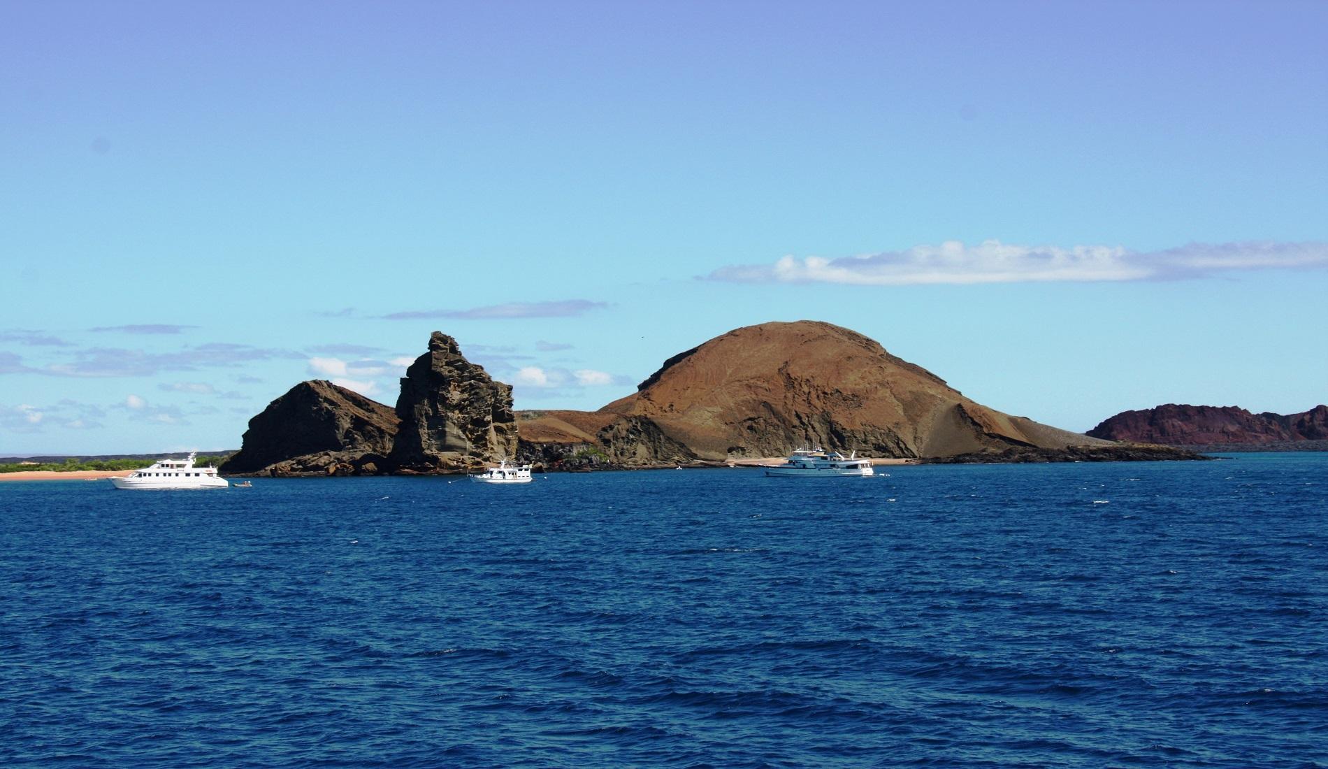 galapagos landschap