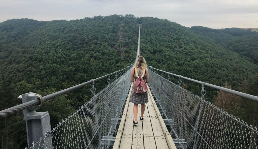 Geierlay hanging bridge
