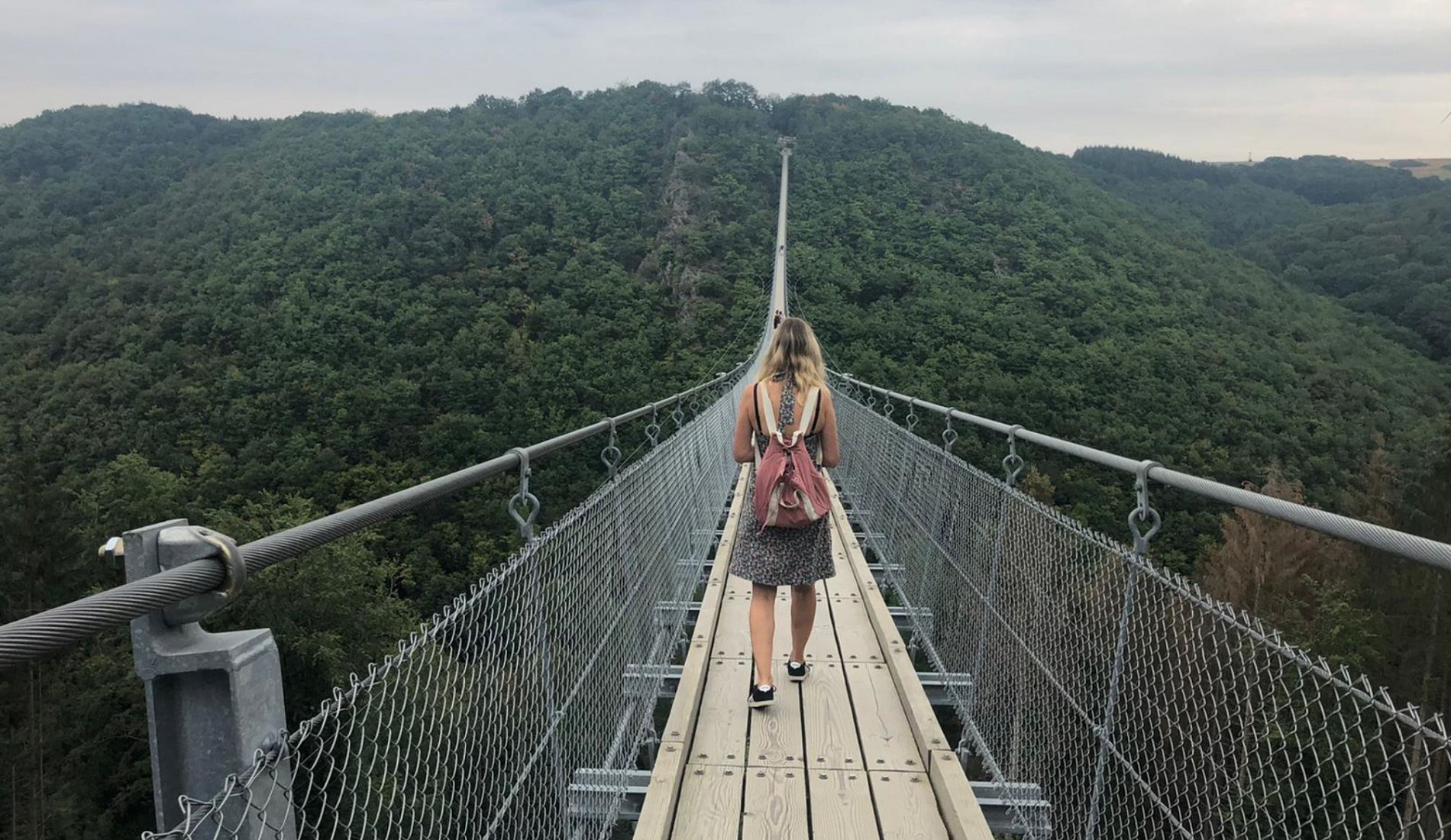 Geierlay hanging bridge