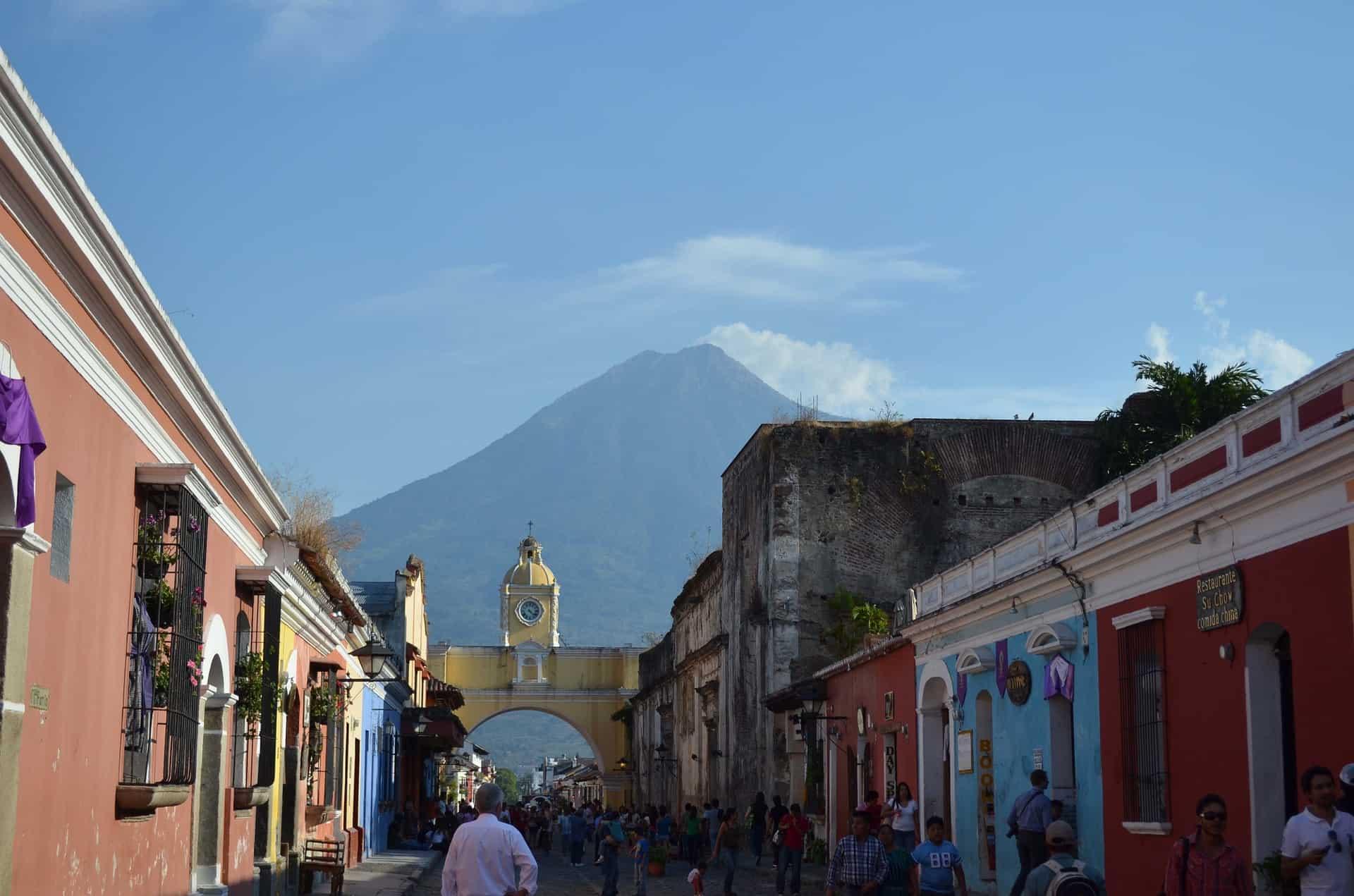 guatemala reizen arco de santa catalina