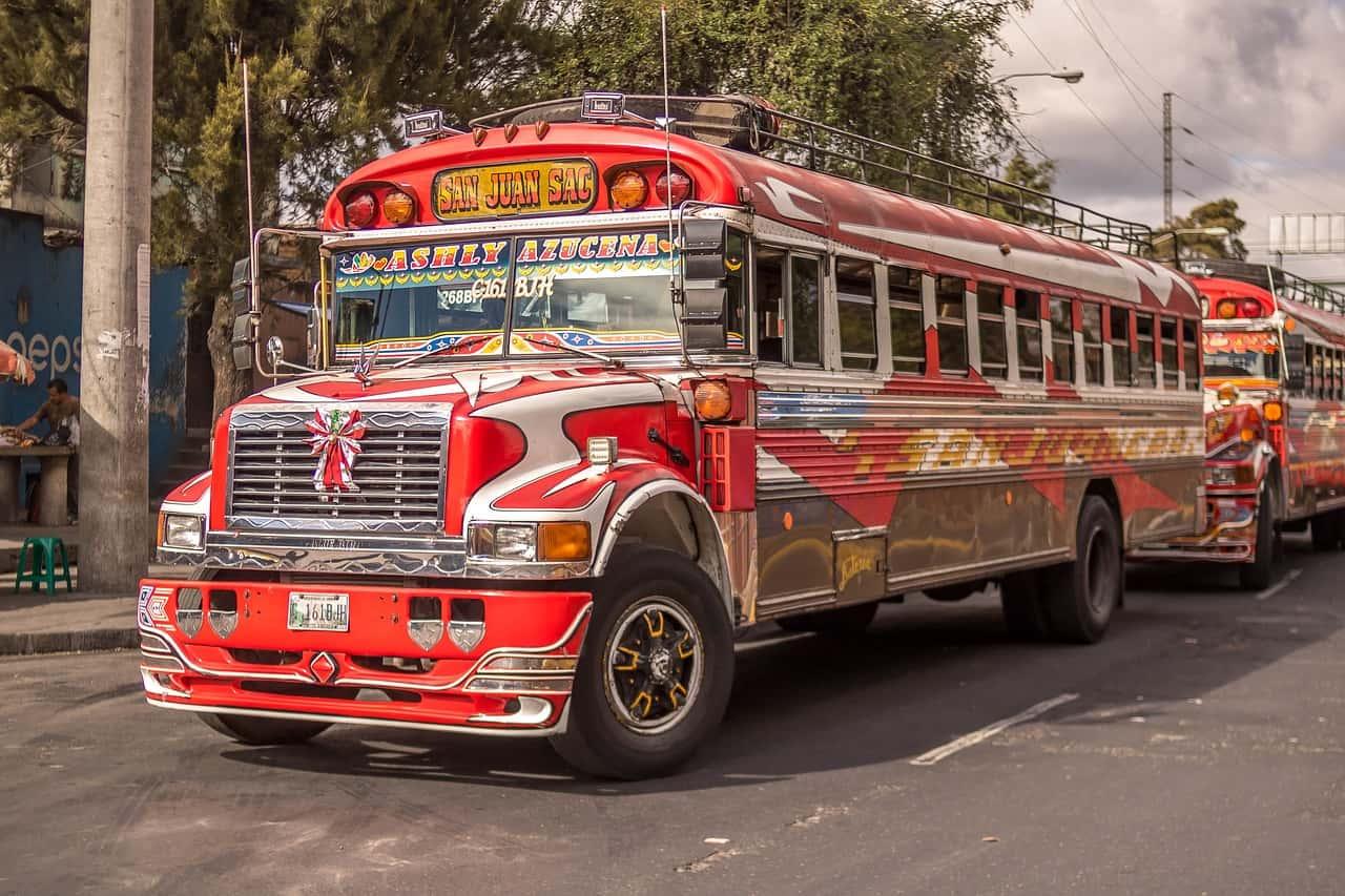 guatemala reizen bus