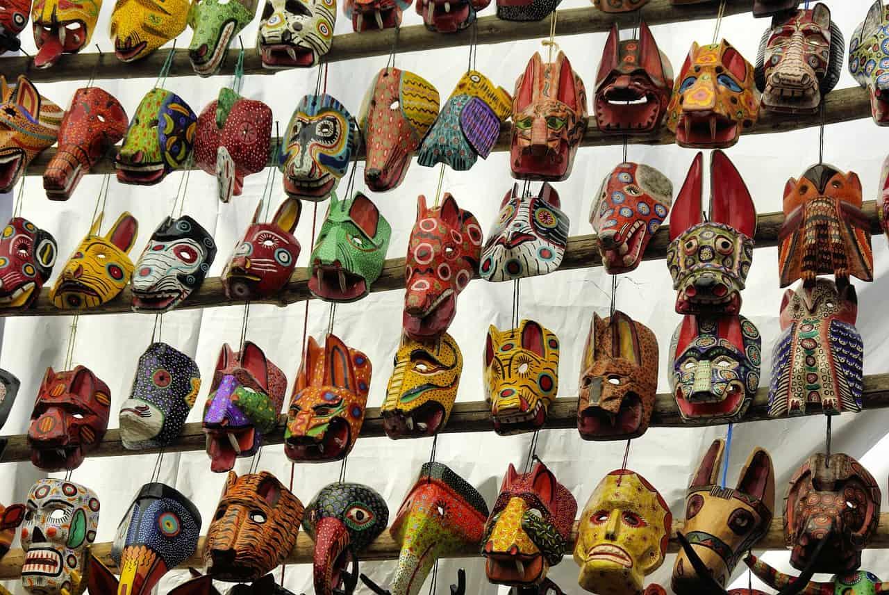 guatemala reizen maskers