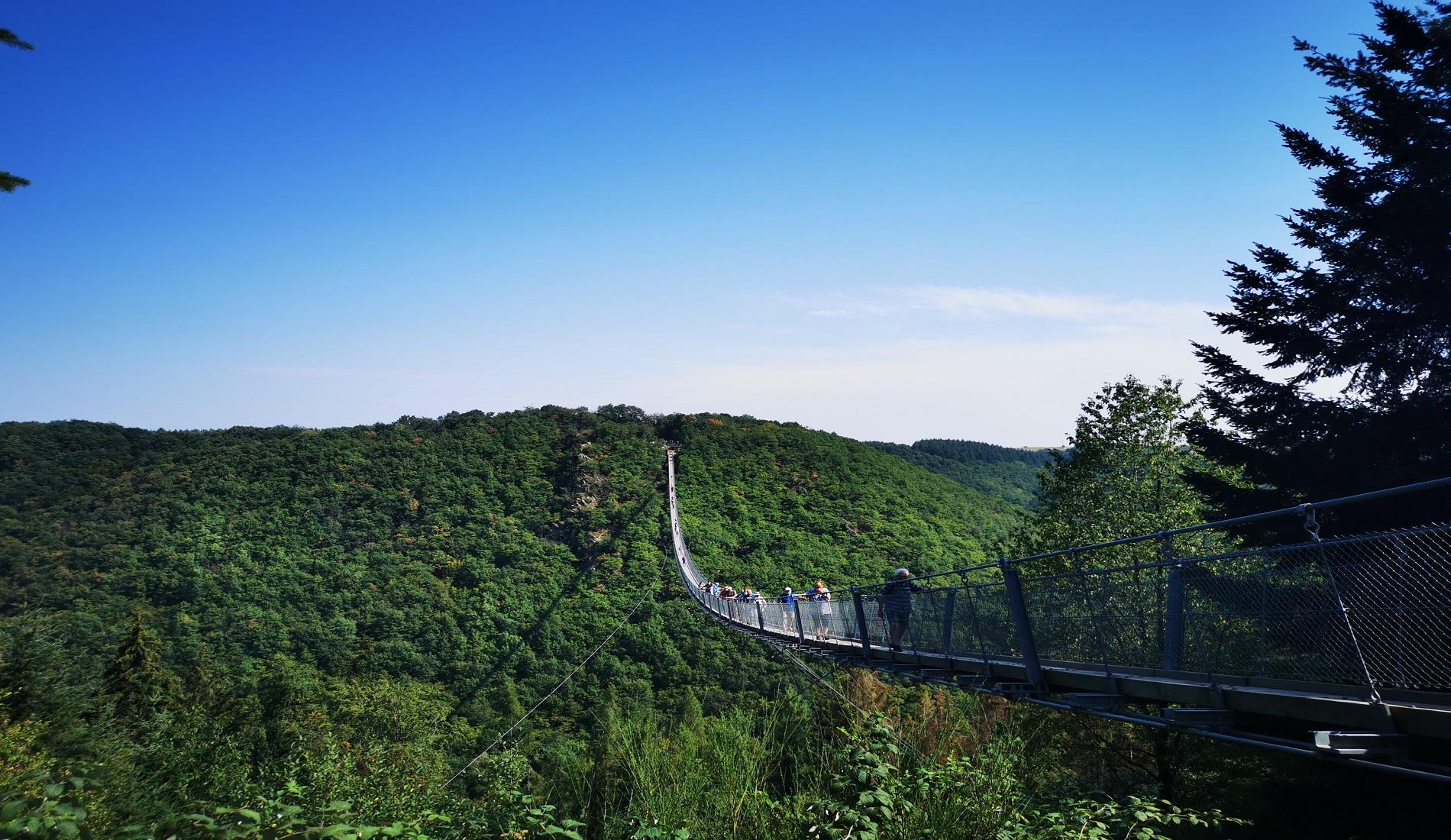 hangbrug Geierlay duitsland reizen