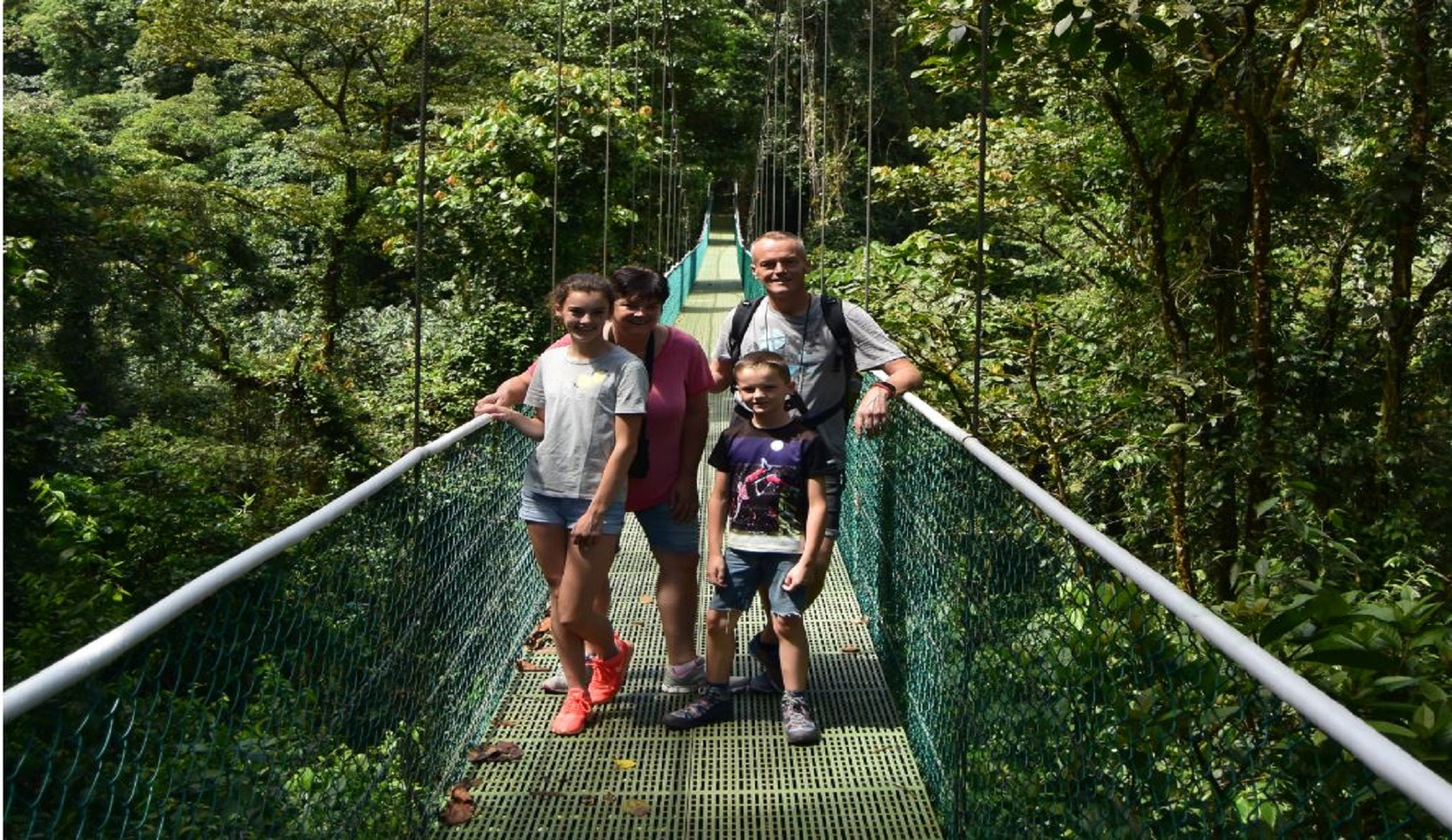 hangbrug familie costa rica