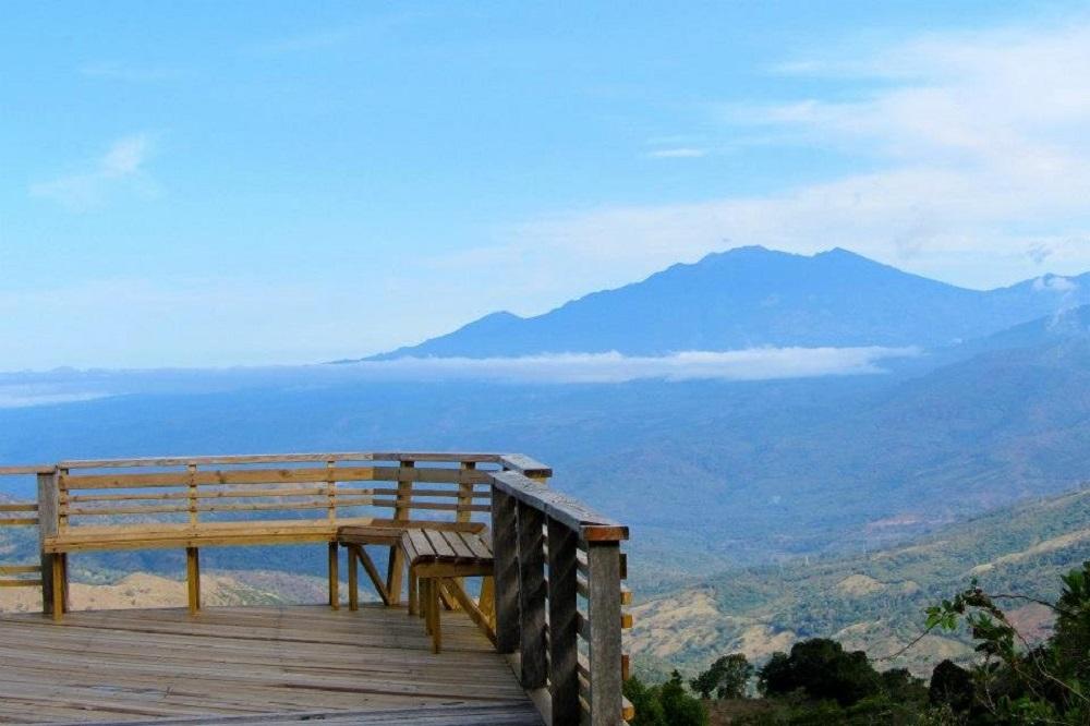 hornito uitzicht baru vulkaan