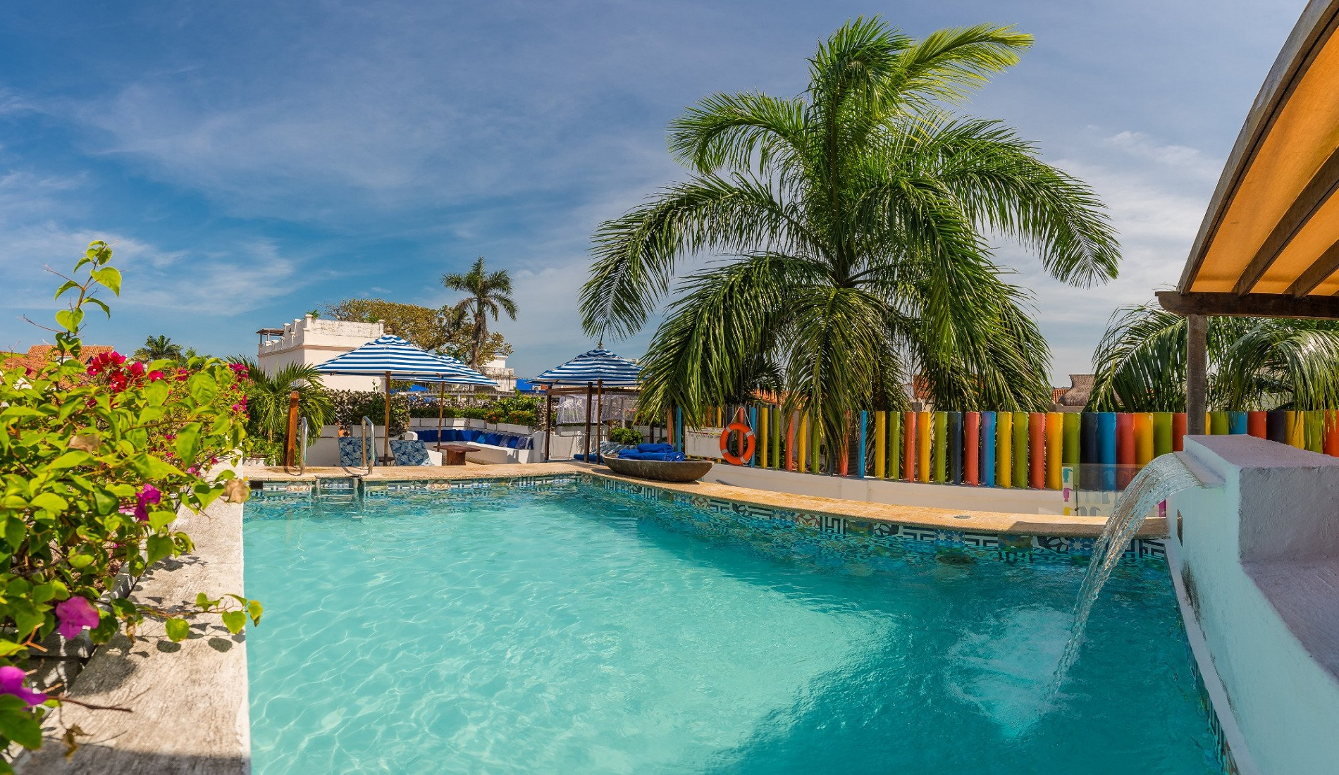 hotel cartagena zwembad