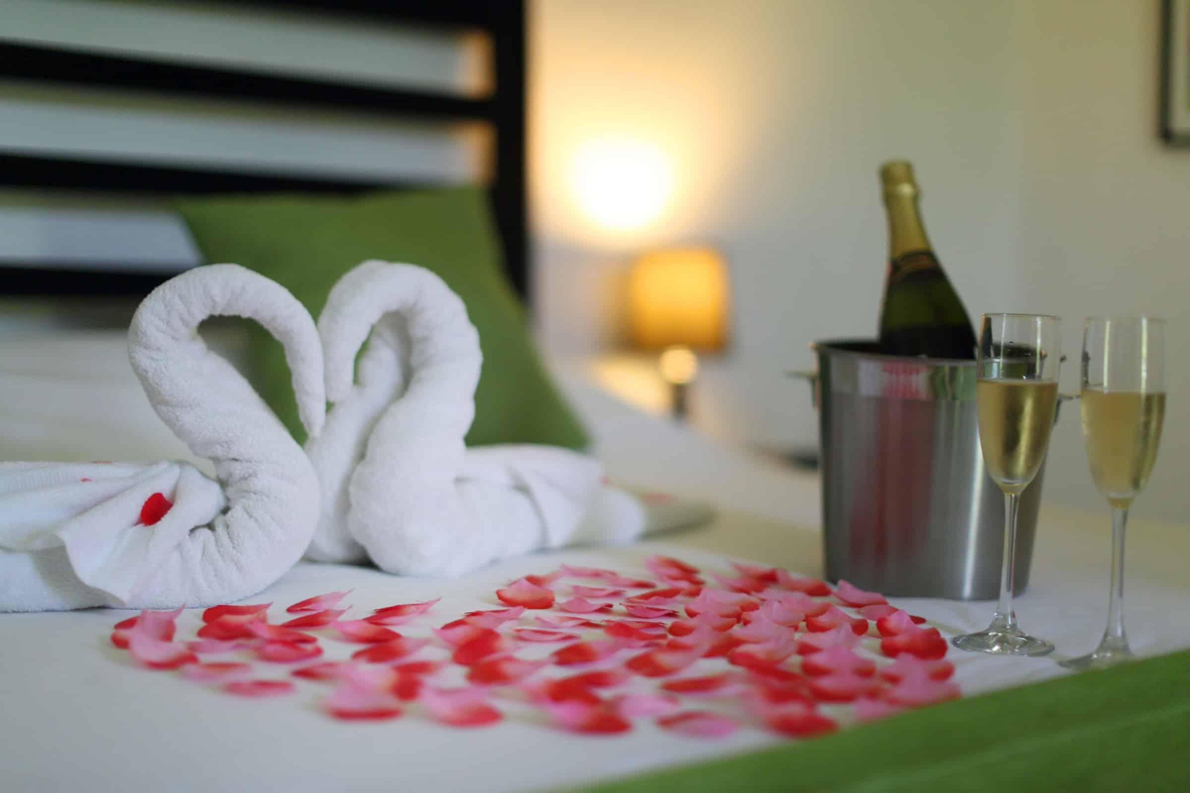 huwelijksreis Panama kamer