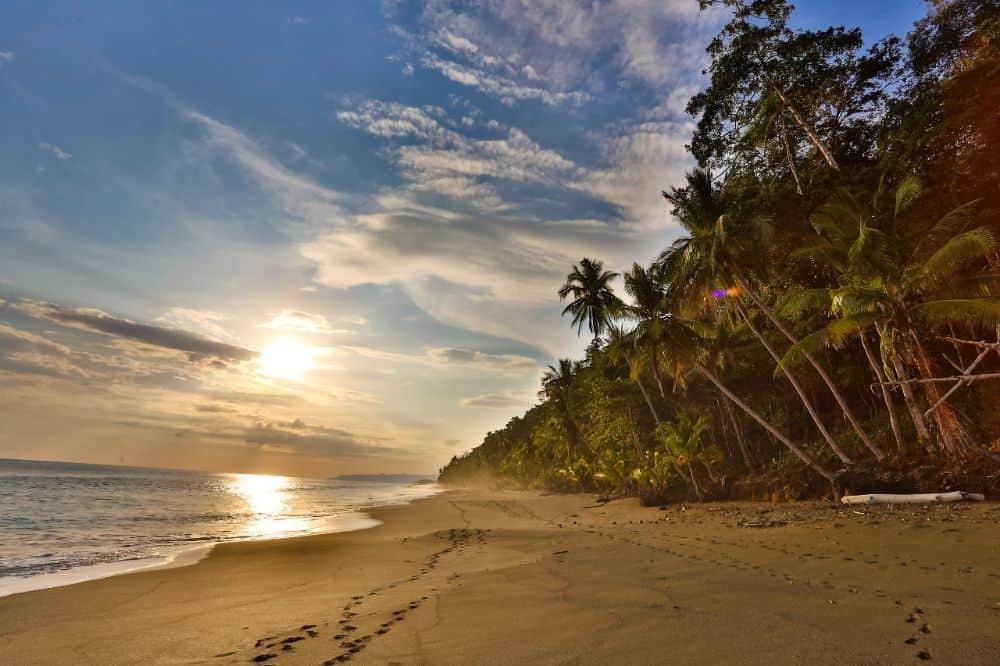 huwelijksreis costa rica strand