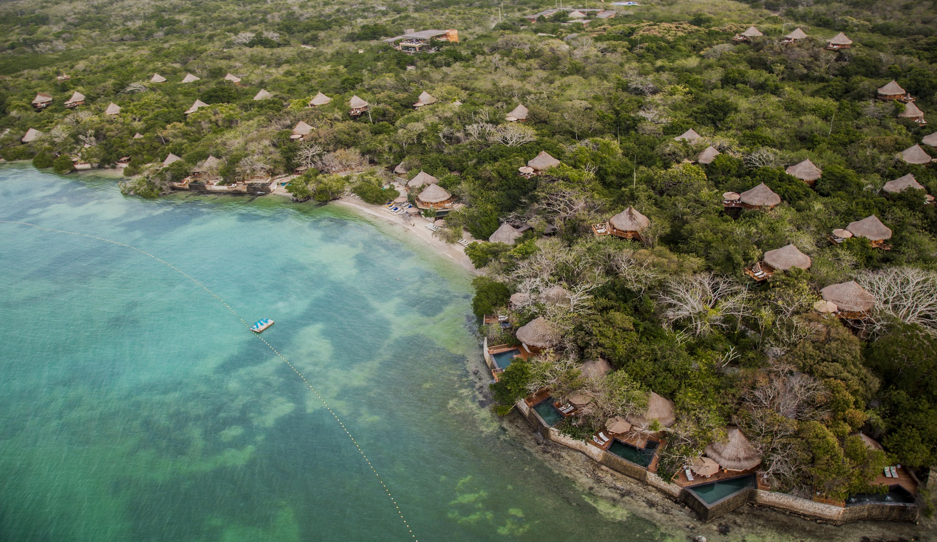 isla baru rondreis colombia