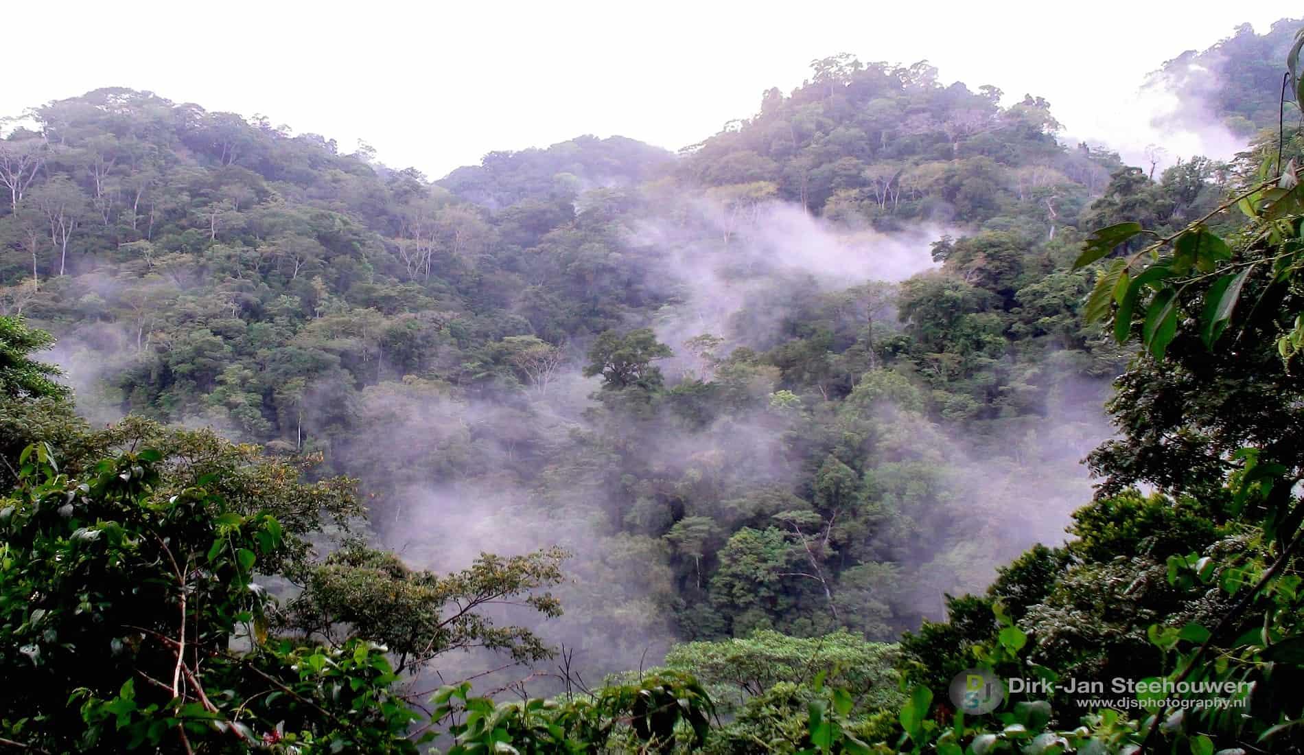 Landschap in Costa Rica