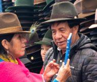 Locals Ecuador hoeden