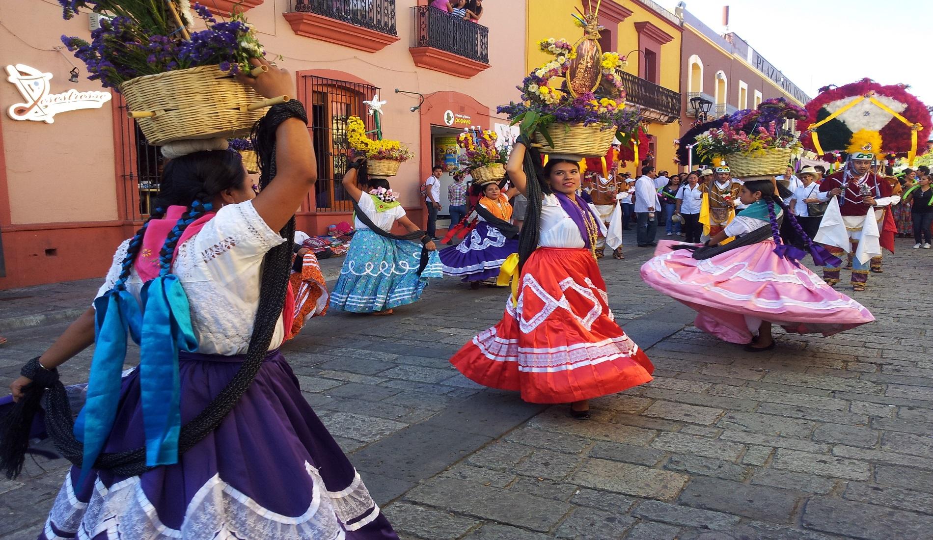 lokaal dans centrum Oaxaca