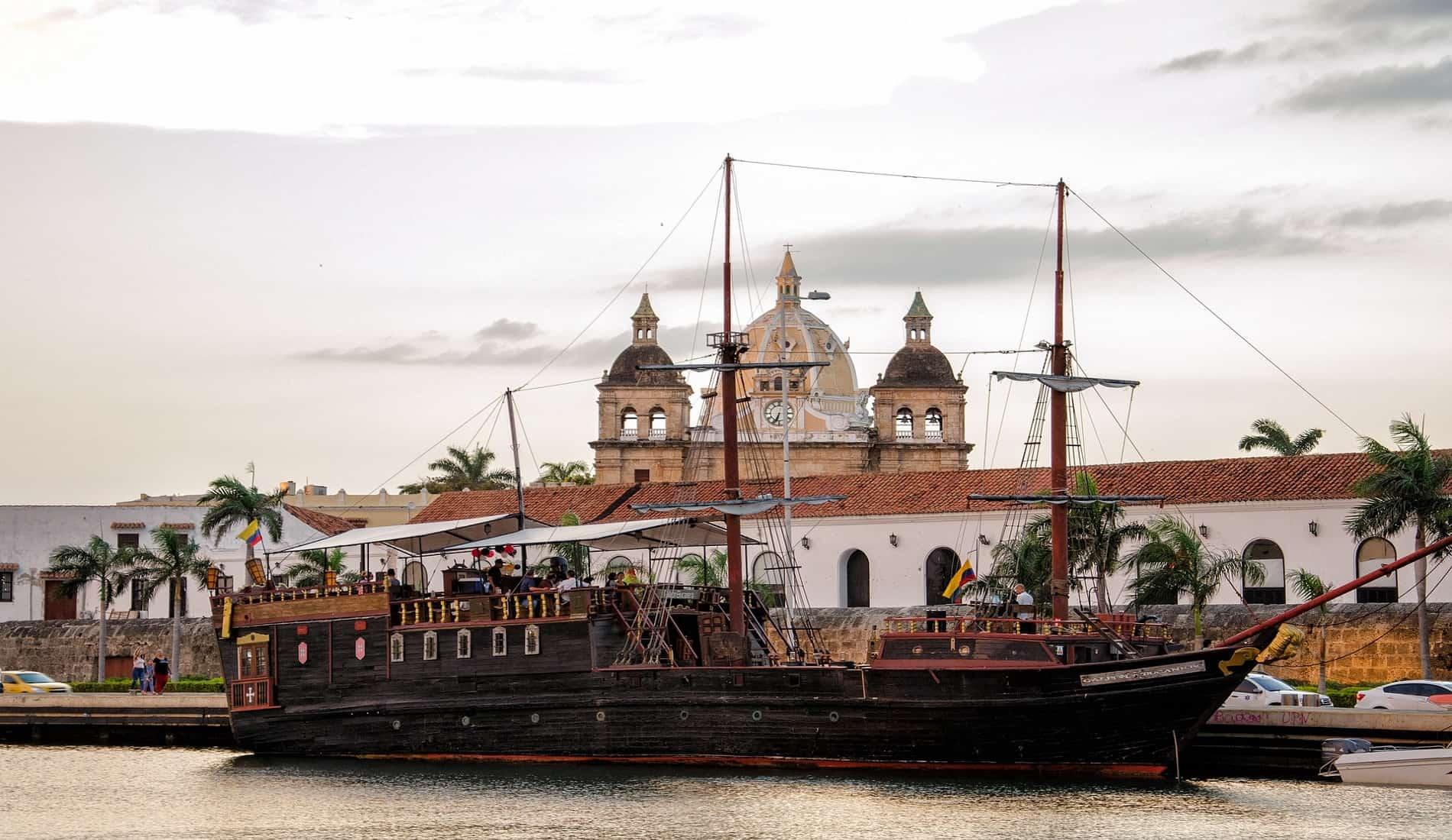 luxe reis colombia cartagena schip