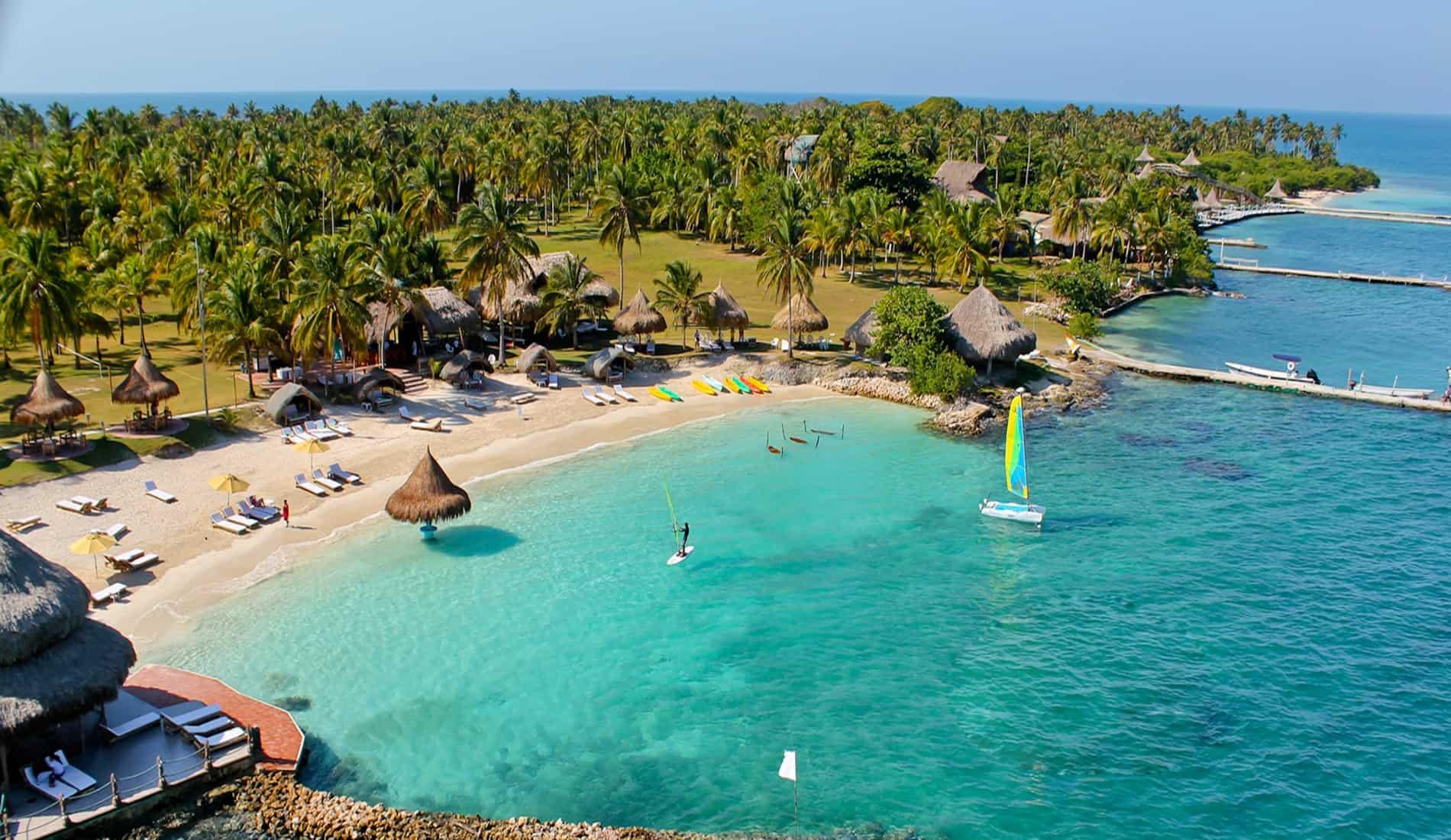 luxe reis colombia isla mucura