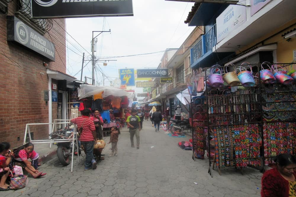 markt reisverslag guatemala