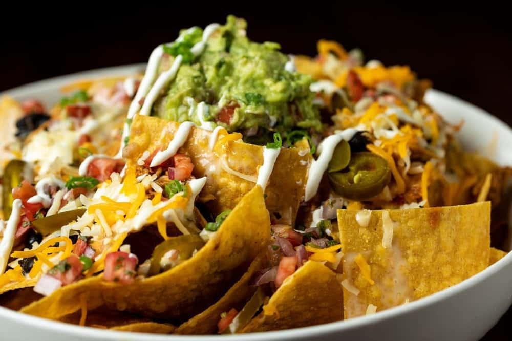 mexicaanse nachos culinair eten