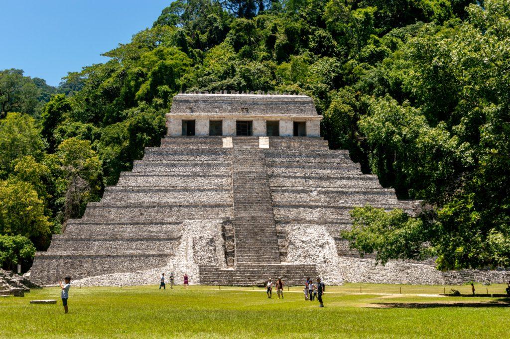 mexico hootepunten palenque tempel