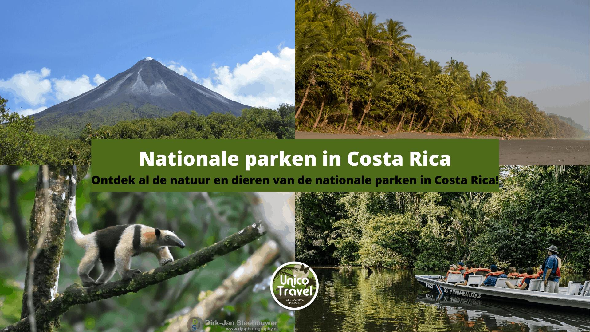 nationale parken in CR