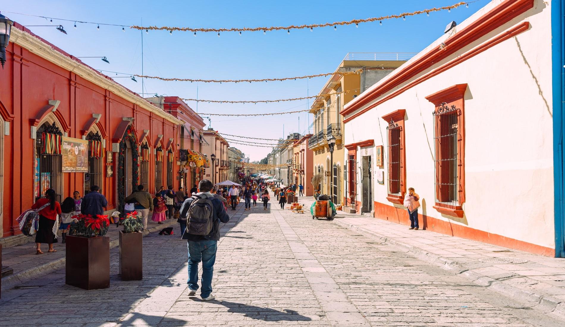 oaxaca stad mexico