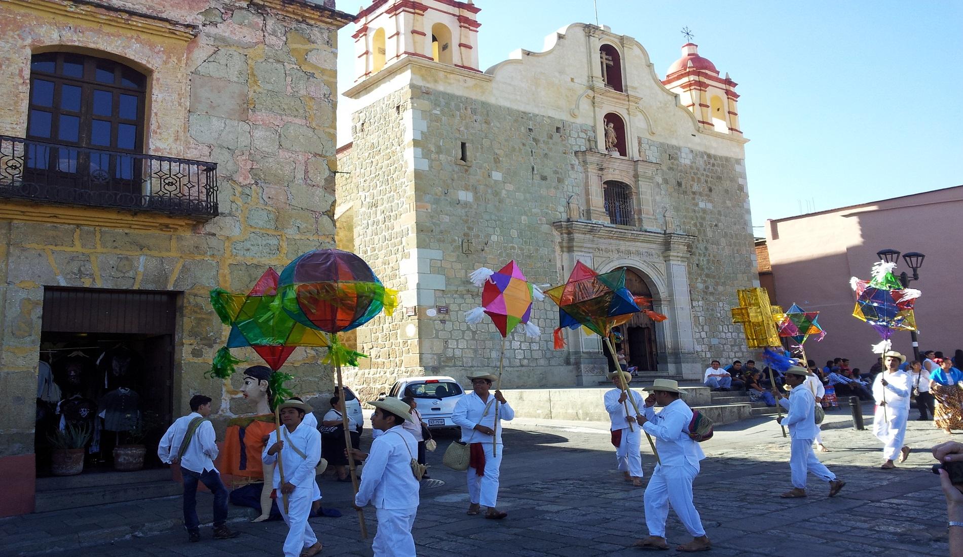 oaxaca stad dansers mexico reizen