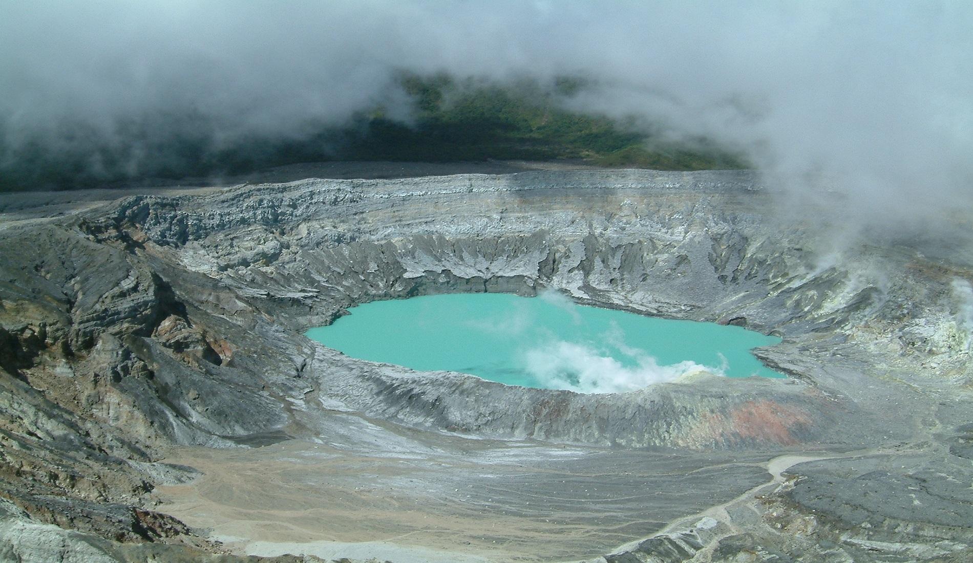 poas vulkaan costa rica lokaal