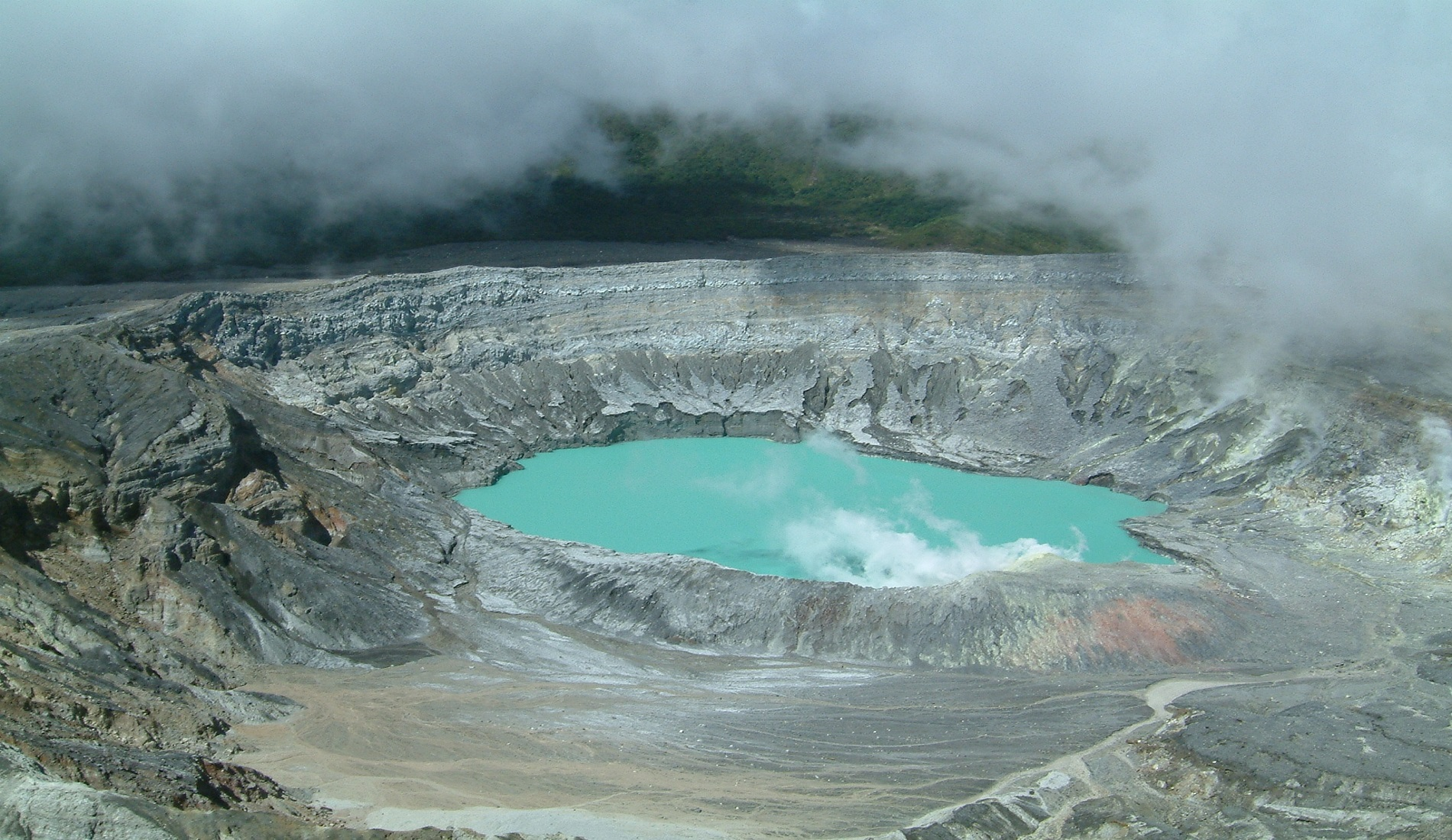 poas vulkaan costa rica