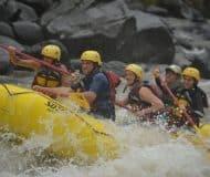 Sarapiqui rivier, familiereis Costa Rica