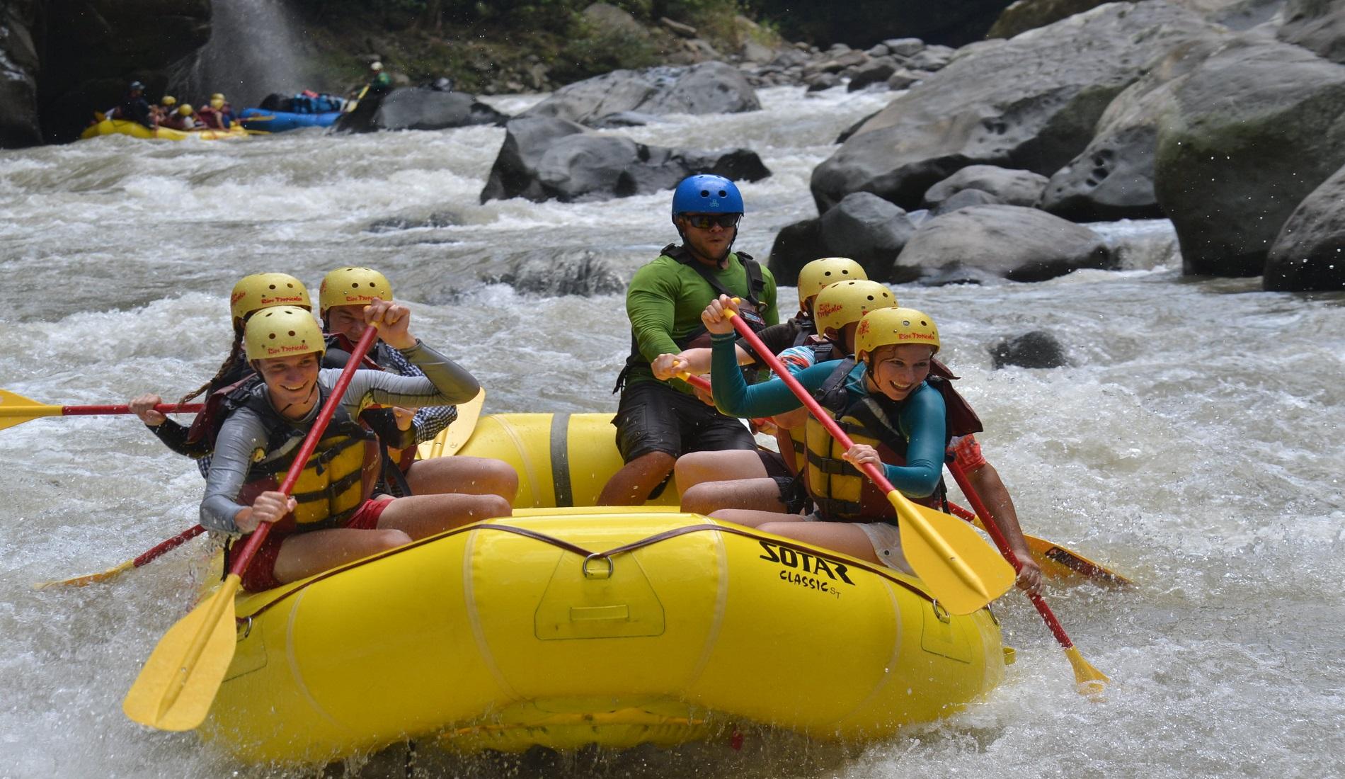 raften pacuare rivier costa rica