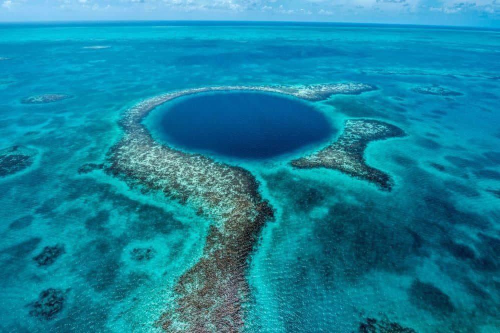 rondreis belize blue hole