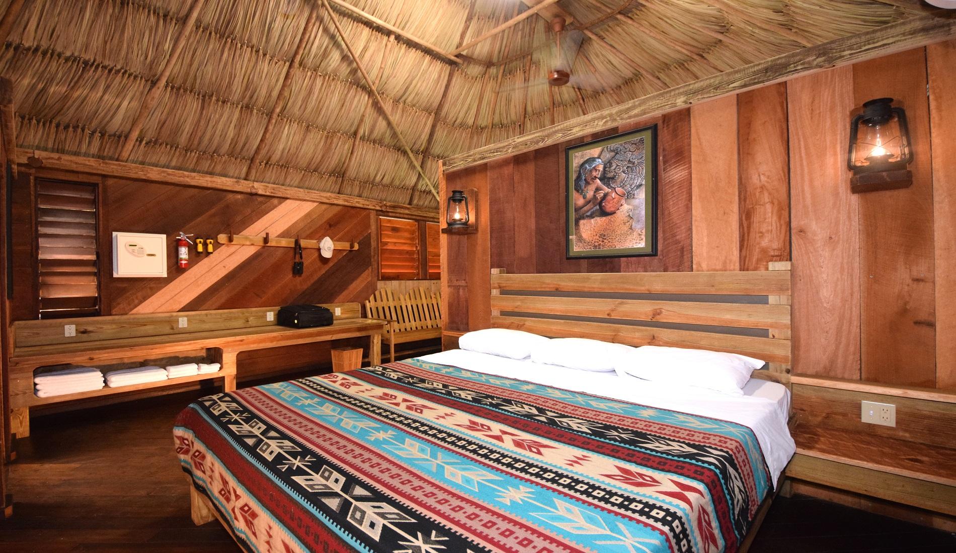 rondreis belize lamanai cabin
