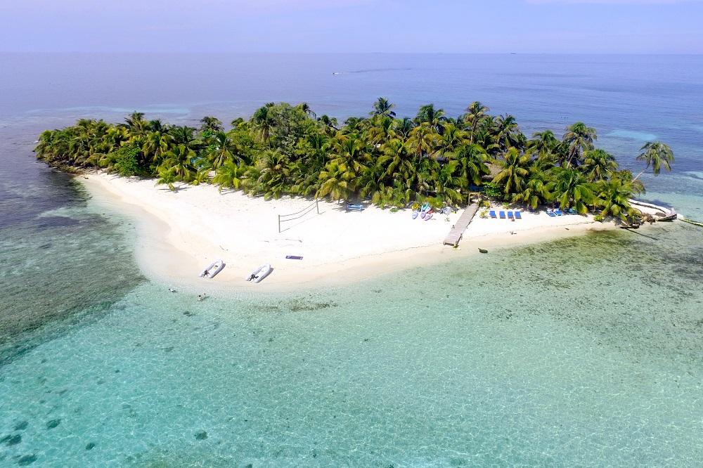 rondreis belize ranguana caye eiland