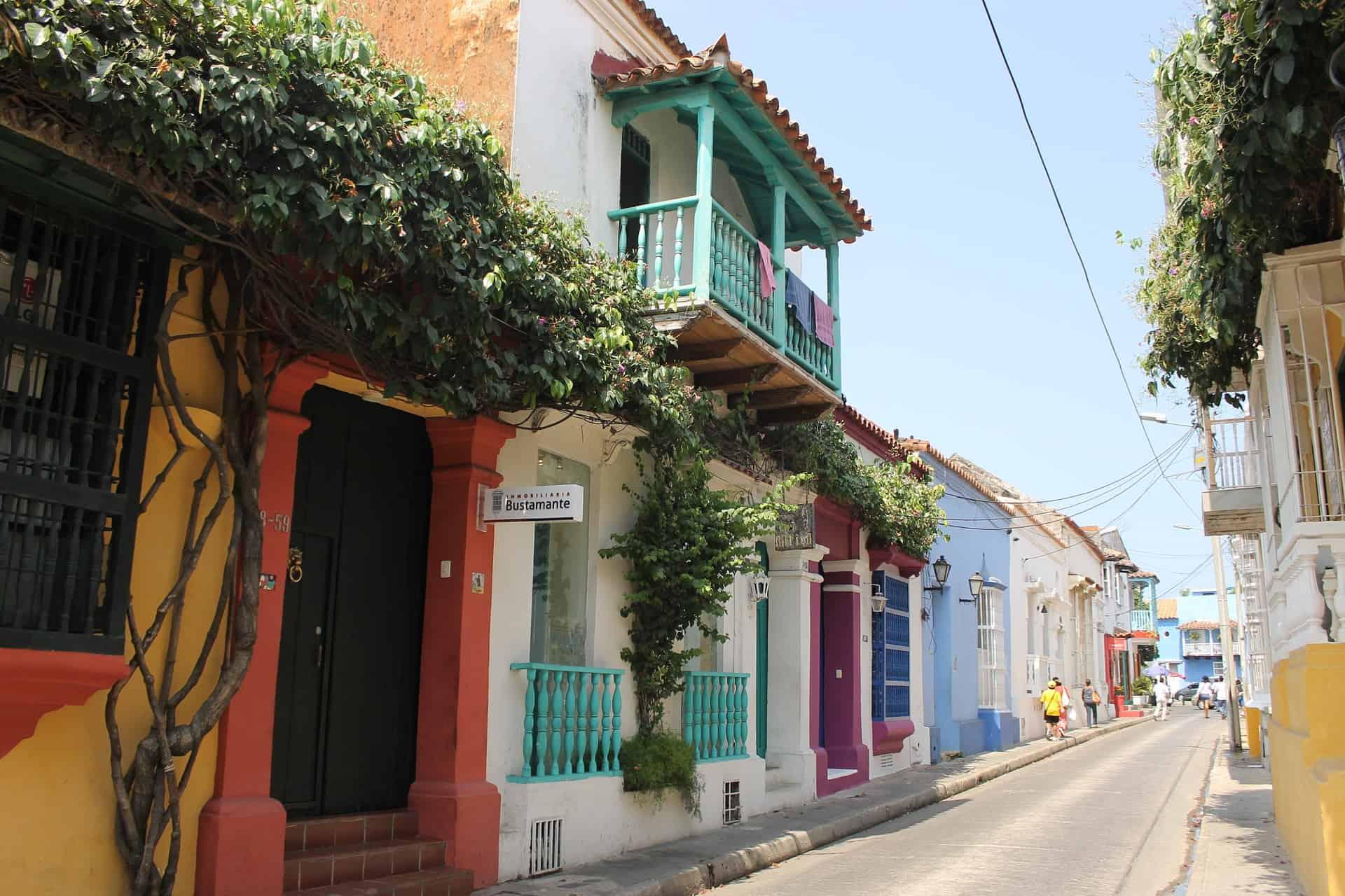 rondreis colombia straten cartagena
